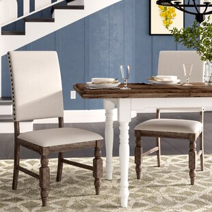 Tara Upholstered Dining Chair (Set of 2) Gracie Oaks