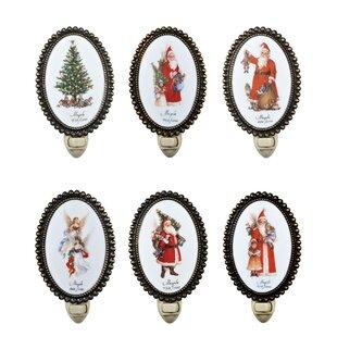 Meyda Tiffany Christmas 12 Pieces Night Light Set