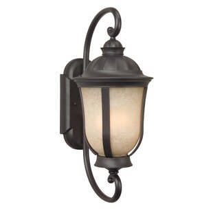 Oakhill Oiled Bronze 1-Light Outdoor Wall Lantern