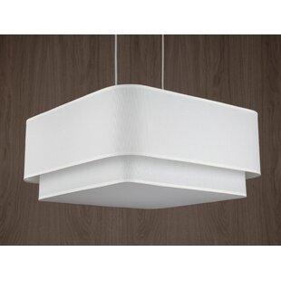 Lights Up! Blip 4-Light Square/Rectangle Chandelier