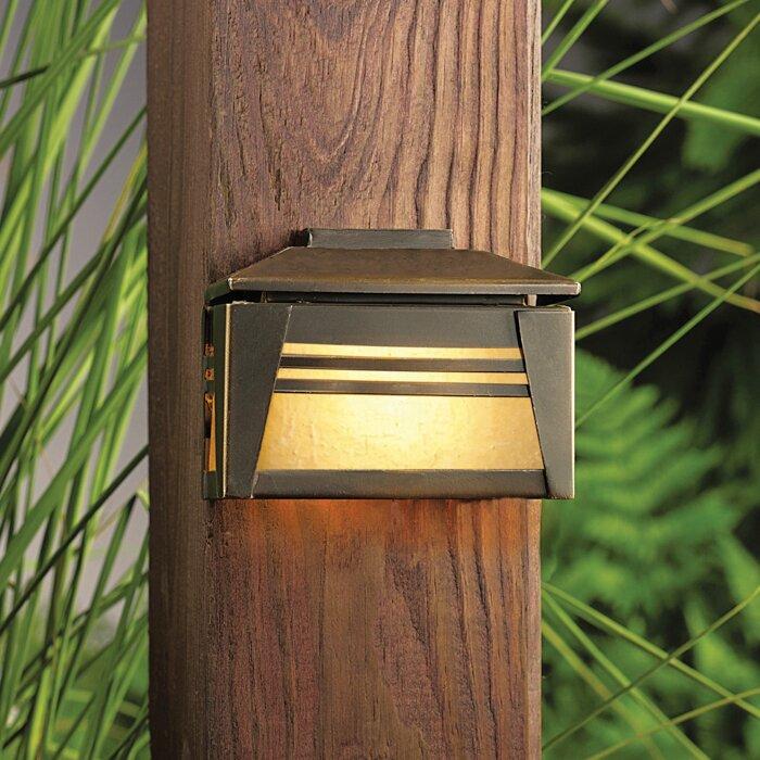 Kichler Zen Garden Low Voltage Hardwired Deck Light Wayfair