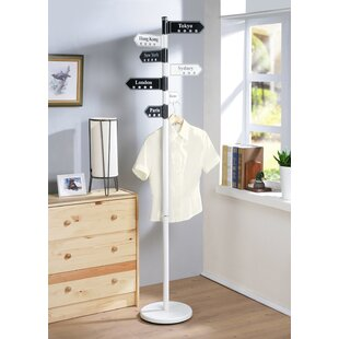 Ebern Designs Metal Coat Rack
