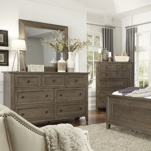 Birch Lane™ Carly 7 Drawer Dresser with Mi..