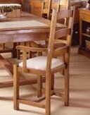 Ames Disco Solid Wood Dining Chair