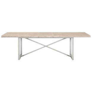 Mallett Extendable Dining Table Union Rustic