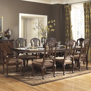 Keech Rectangular 9 Piece Dining Set