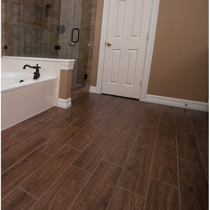Grove 6 X 24 Ceramic Wood Look Field Tile In Manor