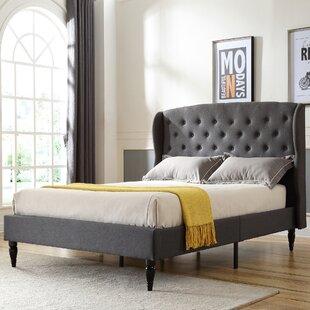 Nilah Upholstered Platform Bed by DarHome Co