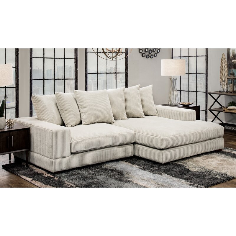 Bon Luxe Right Hand Facing Sectional