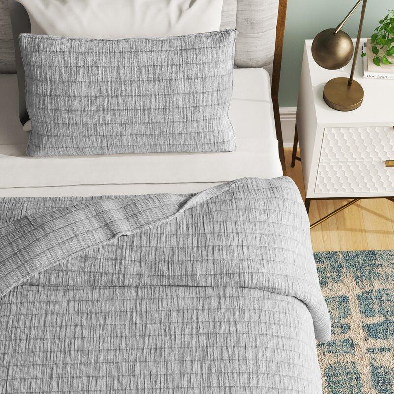 George Oliver Aiesha Pokorny Reversible Quilt Set Reviews Wayfair