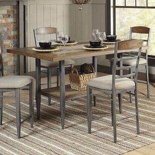 Gracie Oaks Buxton Pub Table Set