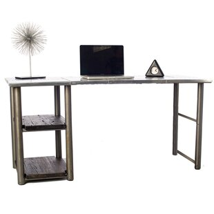 Writing Desk in Chrome