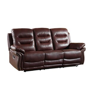 Shop Ullery Upholstered Living Room Reclining Sofa by Winston Porter