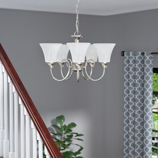 Buren 5-Light Shaded Chandelier by Darby Home Co