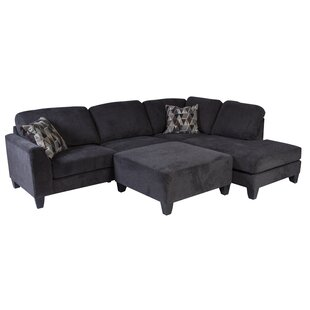 Williar Transitional Sectional with Ottoman
