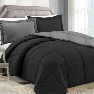 Orrstown Reversible Comforter Set by Ebern Designs