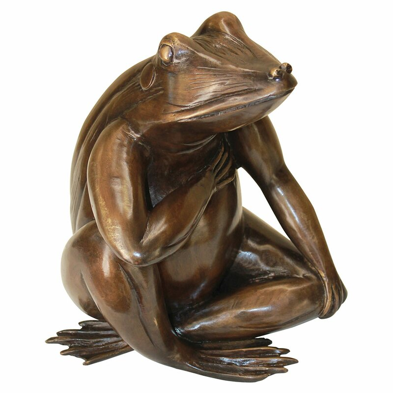High Quality Forever In My Heart: Frog Garden Statue