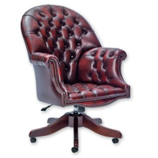 Siegert Leather Executive Chair By Rosalind Wheeler