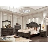 Berman 4 Piece Bedroom Set by Rosalind Wheeler