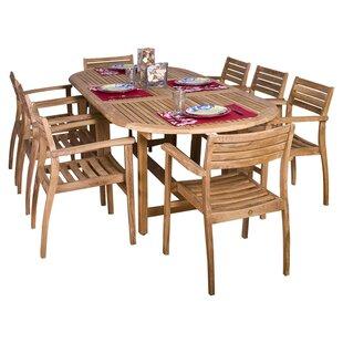 Elsmere 9 Piece Teak Dining Set