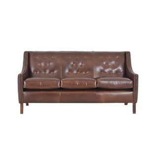 Woburn Genuine Top Grain Leather Sofa