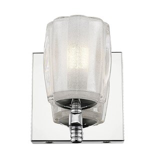 Frost 1-Light LED Bath Sconce by House of Hampton