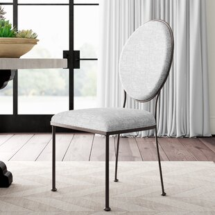 Ordinaire Cairo Oval Back Upholstered Dining Chair