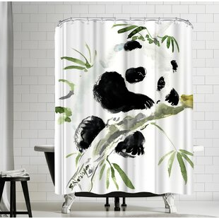Suren Nersisyan Baby Panda Single Shower Curtain
