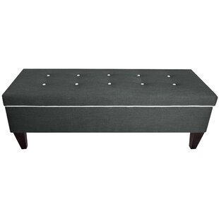 Conyers Upholstered Storage Bench by Charlton Home