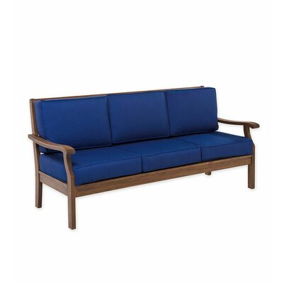 Cushioned Wood Patio Sofas Amp Sectionals You Ll Love In