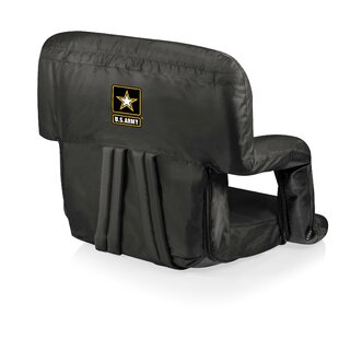 ONIVA™ Army Ventura Reclining Stadium Seat with Cushion