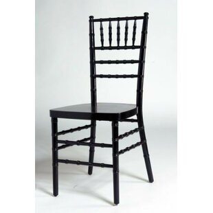 Party Solid Wood Dining Chair (Set of 2)