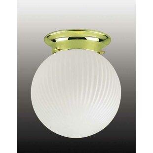 Volume Lighting Roth 1-Light Ceiling Fixture Flush Mount