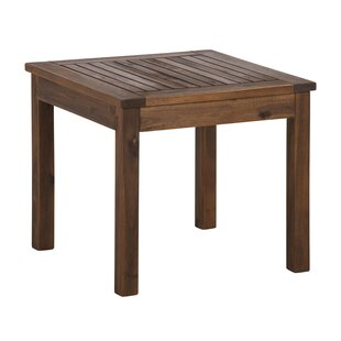 Luyster Wooden Side Table