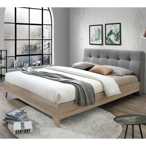 rebecca upholstered full platform bed