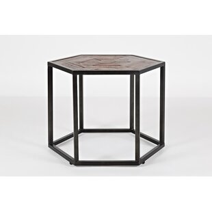 Inexpensive Connally Wood and Metal Coffee Table by Union Rustic