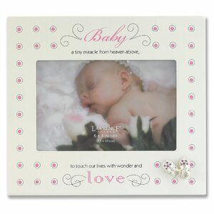 Nursery Baby Shoes Picture Frame