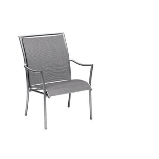 Dominica Sling Stacking Patio Dining Chair by Woodard Wonderful