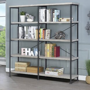 Thea Blondelle Library Bookcase by 17 Stories