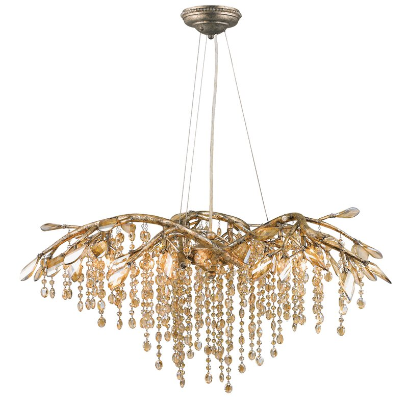 Willa Arlo Interiors Destrie 6-Light Crystal Chandelier & Reviews ...
