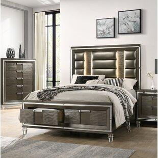 Gilmore Upholstered Storage Platform Bed By Mercer41