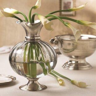 Giovanna Crystal Vase By Arte Italica