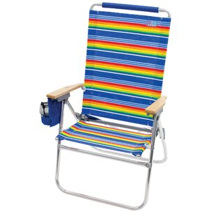 Hi-Boy Tall Back Folding Beach Chair