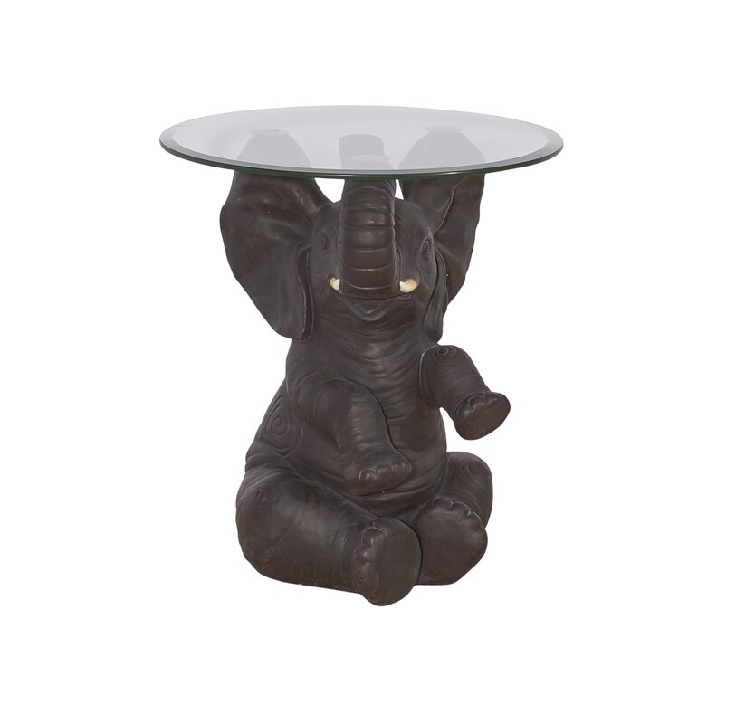 Fateh Elephant End Table
