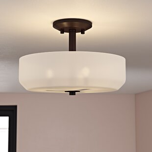Rutha 3-Light Semi Flush Mount by Zipcode Design
