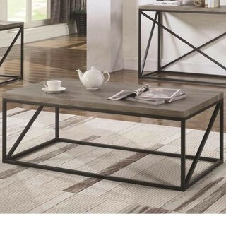 Almazan Industrial Minimal Coffee Table by Williston Forge SKU:EB707349 Shop