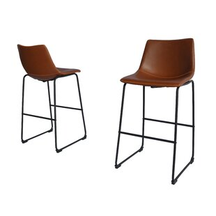 Hailley 29 Bar Stool (Set of 2) 17 Stories