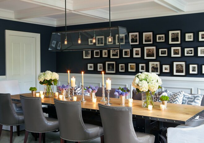 Great Gallery Wall Dining Room