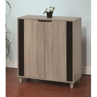 Wooden Entryway Shoe Storage Cabinet ByLatitude Run