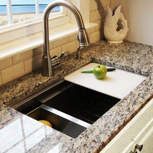 Undermount Kitchen Sink Granite undermount kitchen sinks you'll love   wayfair